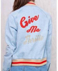 Somedays Lovin The Girlfriend Give Me Thrills Jacket