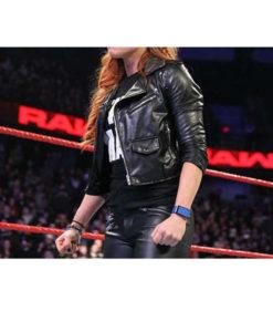 WWE Becky Lynch Black Jacket