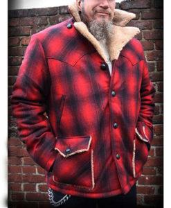 Cameron Boyce Red Plaid Jacket