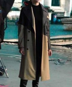 Red Notice Gal Gadot Coat