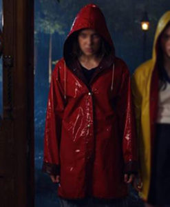 Stranger Things Eleven Red Jacket
