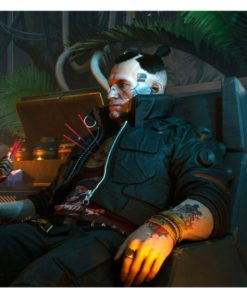 Cyberpunk 2077 Jackie Welles Black Jacket