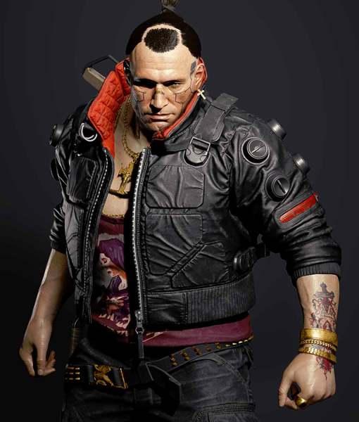 Cyberpunk 2077 Jackie Welles Black Jacket