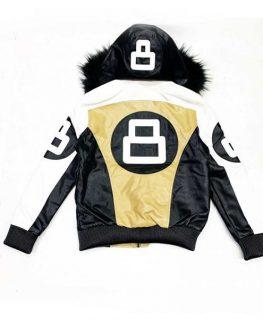 8 Ball Pool Hooded Jacket