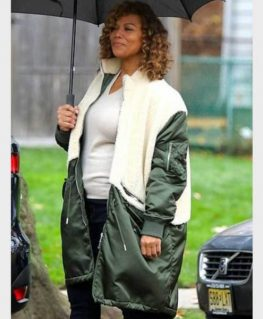 The Equalizer 2021 Robyn McCall Shearling Coat