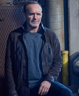 Agents Of Shield Phil Coulson Leather Jacket