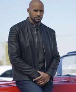 Agents of Shield Alphonso Mackenzie Leather Jacket