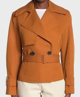L.A.'s Finest S02 Nancy McKenna Cropped Jacket 1