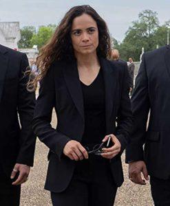 Teresa Mendoza Black Blazer
