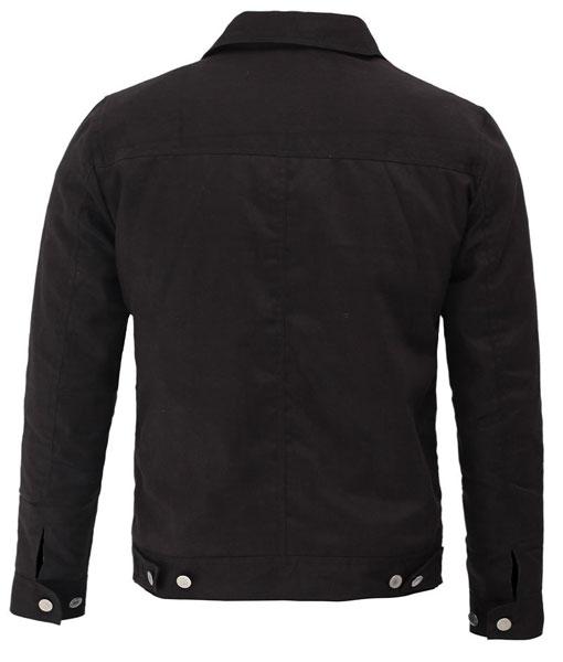 Cole Hauser TV-Series Yellowstone Rip Wheeler Black Jacket