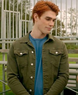 Riverdale S05 Archie Andrews Green Jacket