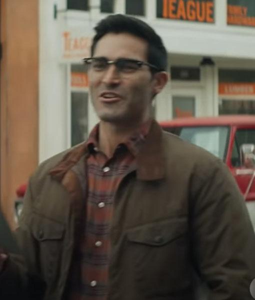 Superman and Lois Clark Kent Brown Jacket