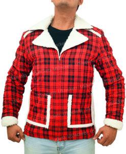 Deadpool Shearling Coat