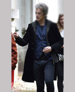 Doctor Who 12th Doctor Who Black Velvet Coat