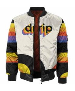 Men's Drip Bomber Jacket