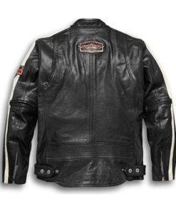 Harley Davidson Command Black Leather Jacket