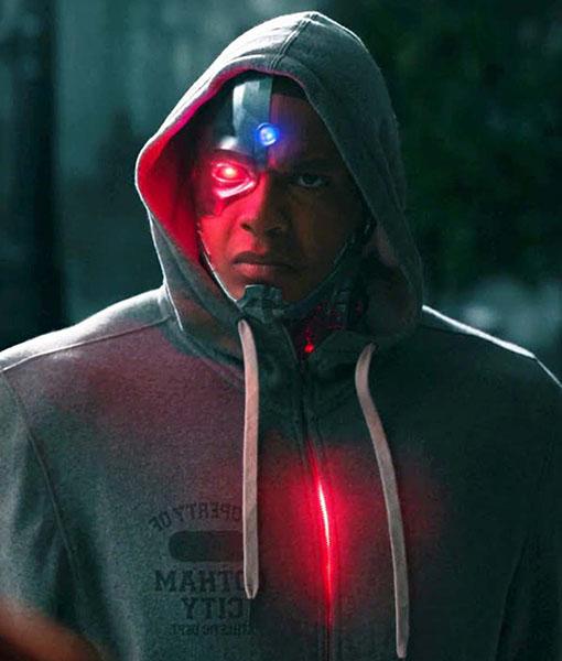Justice League Cyborg Hoodie