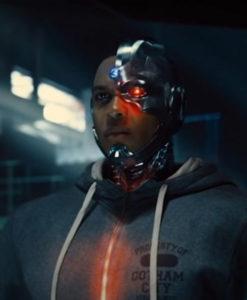 Justice League Cyborg Hoodie2