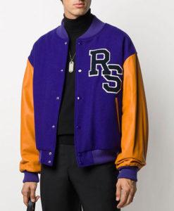Men's Raf Simons Life on Mar Varsity Jacket