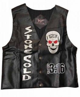 Stone Cold Steve Austin Black Vest