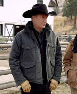 Yellowstone John Dutton Grey Jacket