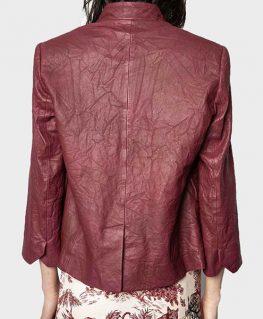 9-1-1 S04 Athena Grant Leather Jacket