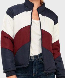 Chicago Fire S09 Kylie Estevez Colorblock Jacket
