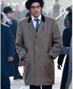 Cruella 2021 Joel Fry Grey Coat