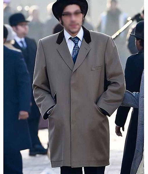 Cruella 2021 Joel Fry Grey Coat