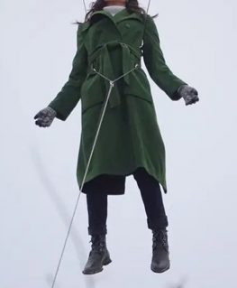 Eternals 2021 Sersi Coat