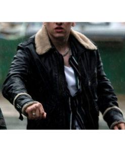 Eternals Druig Fur Collar Jacket