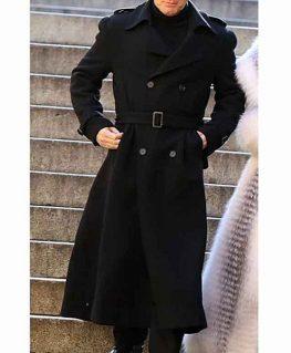 Ewan McGregor Halston Coat