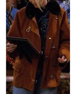 FRIENDS Phoebe Buffay Brown Suede Jacket