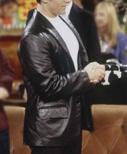 Friends Season 6 Joey Tribbiani Leather Blazer