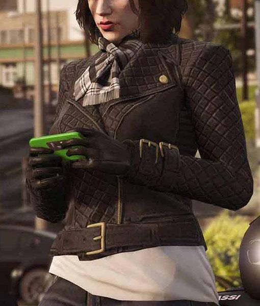 GTA 6 Lady Protagonist Leather Jacket
