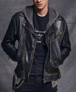 Gabriel Guevara Hit Dario Leather Jacket