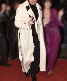 Halston 2021 Ewan McGregor Halston White Coat