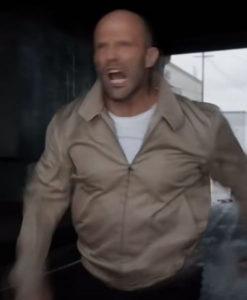 Jason Statham Wrath of Man Cotton Jacket - FREE SHIPPING