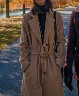 Alessandra Mastronardi Coat