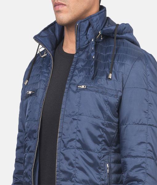 Men's Windbreaker Jacket with Hood