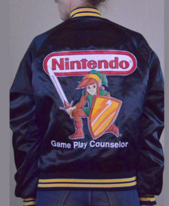 Nintendo Game Play Counselor Jacket