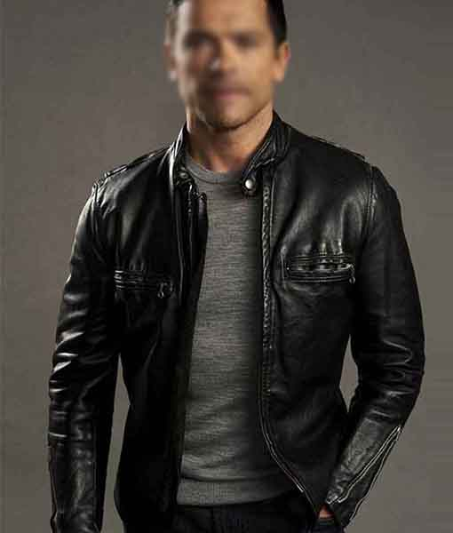 Riverdale S02 Hiram Lodge Black Jacket