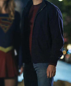 Supergirl Mon-El Black Jacket