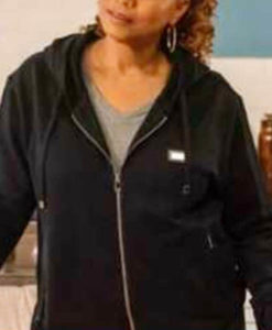 The Equalizer Queen Latifah Black Hooded Jacket