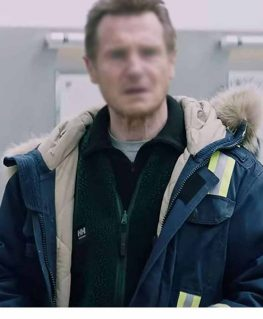 The Ice Road 2021 Mike Blue Coat