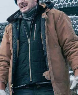The Ice Road 2021 Mike Puffer Coat
