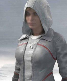 AC Syndicate Grey Galina Voronina Cosplay Jacket
