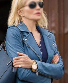 Animal Kingdom Janine Cody Leather Jacket