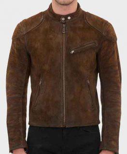 Arrow Roy Harper Suede Jacket