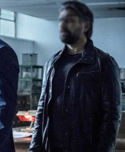 Arrow Slade Wilson Leather Jacket